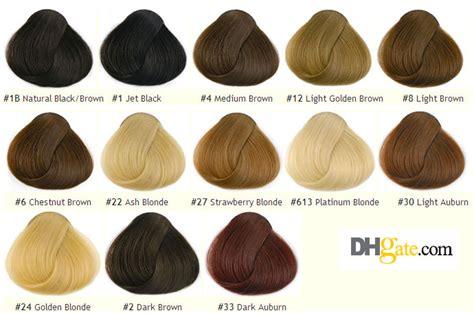 hair extension choice color vital  natural human