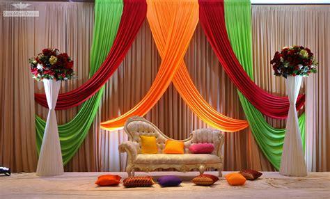 Indian Wedding Stage Decoration Idea Indoor wedding