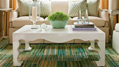 To find out how long your coffee table should be, you should first measure how long your couch is. How to Style a Coffee Table | Interior Design Blog | Hadley Court