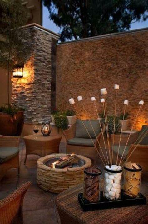 kerzen für den garten den balkon mit naturstein gestalten coole vorschl 228 ge