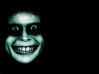 Creepy Scary Zombie Smile Weird Horror Background