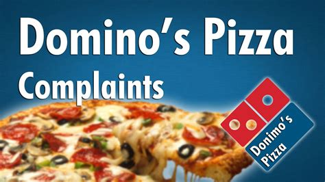 Domino's Pizza Complaints (First World Pizza Problems ...