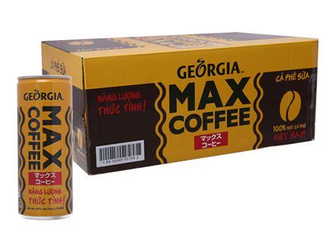 Georgia max coffee tv commercial. 24 lon cà phê sữa Georgia Max Coffee 235ml giá tốt tại Bách Hoá Xanh
