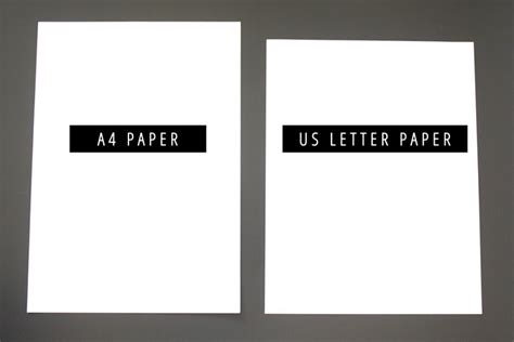 letter size vs a4 letter vs a4 paper are you using the right size 29019