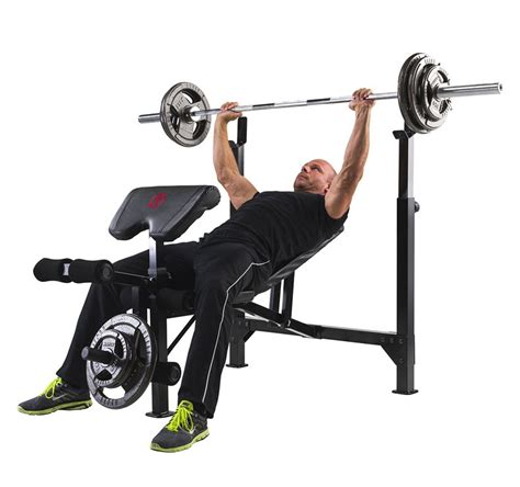 Marcy Eclipse Chair by Marcy Eclipse Be5000 Olympic Width Barbell Bench