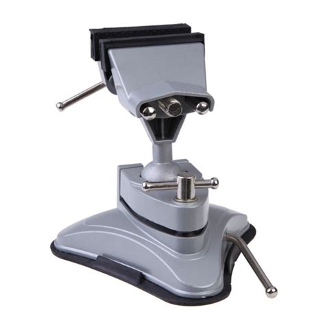 aluminum  degree swivel base table bench vise vice