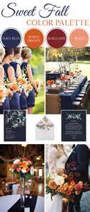 november wedding colors sweet fall wedding color palette linentablecloth