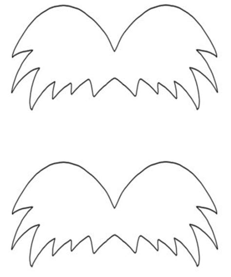 lorax mustache template the gallery for gt lorax mustache template