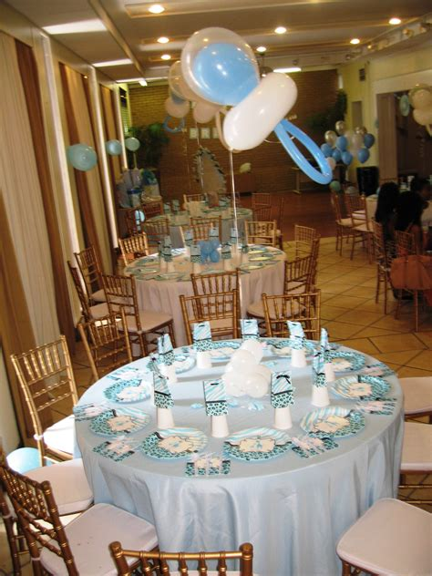 Baby Shower Table Decor Centerpieces Table Decor
