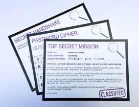 secret invitations
