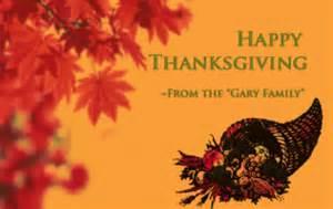senior management thanksgiving message