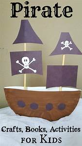 Pirate Ship Paper Plate Craft 3D Project for Kids