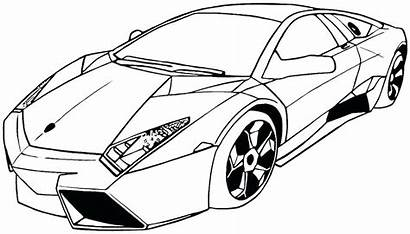 Coloring Pages Exotic Cars Police Printable Getcolorings