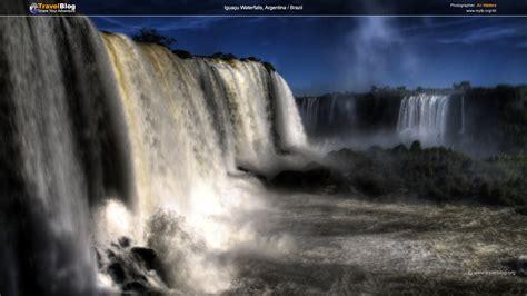 hdr wallpaper waterfall