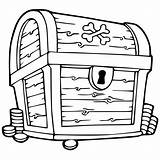 Treasure Chest Coloring Pages Clipartmag sketch template