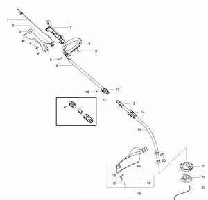 W25cfk Handle Parts