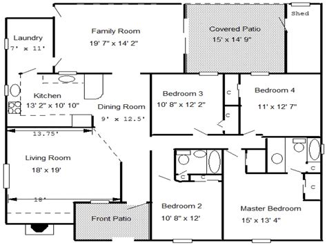 House Floor Plans With Measurements Small Cape Cod House