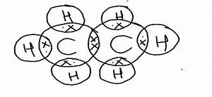 Draw The Electron Dot Structure Of Ethane Molecule Class