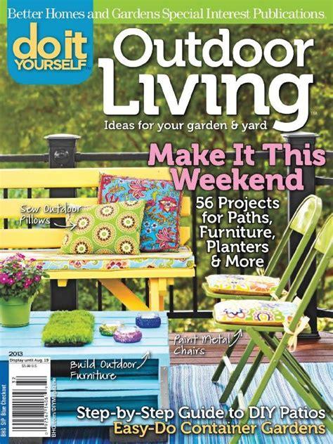 outdoor living magazines do it yourself outdoor living magazine digital discountmags com