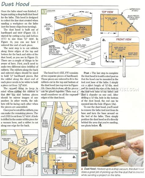 mini lathe stand plans woodarchivist