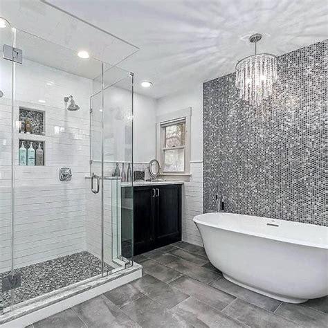Bathroom Ideas In Grey by Top 60 Best Grey Bathroom Ideas Interior Design Inspiration