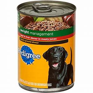 Pedigree Dog Food Recall Announced