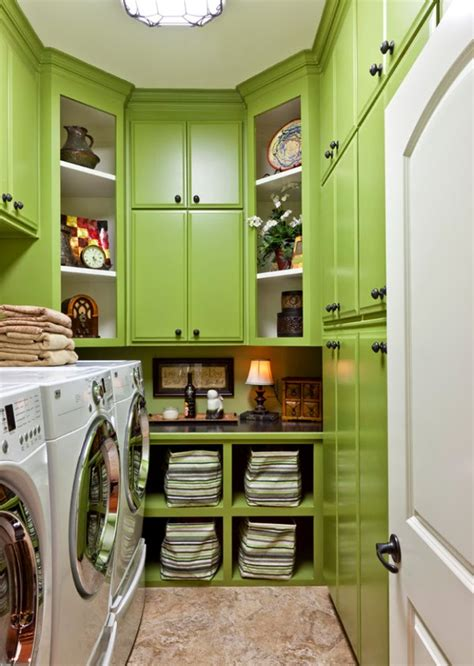 11 green blue laundry room design ideas and pictures