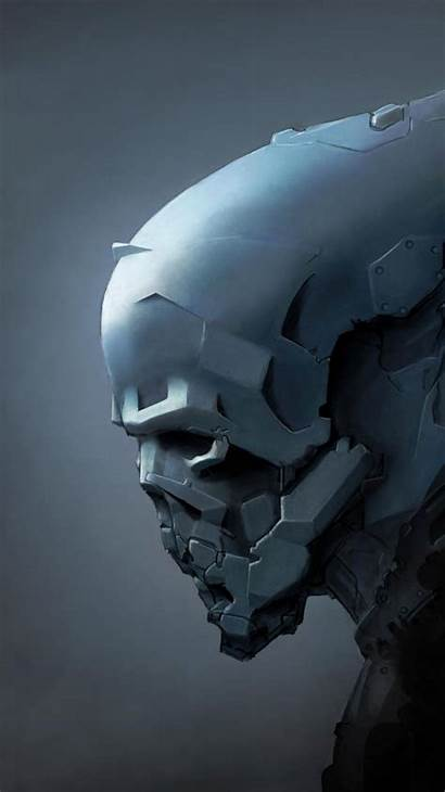 Alien Helmets Cgi Armor Iphone Mobile