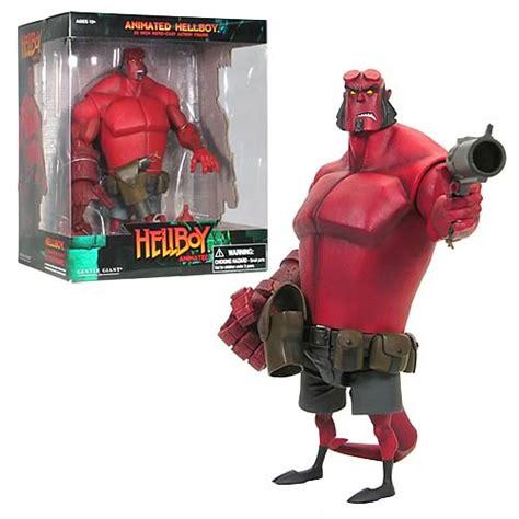 hellboy animated   rotocast action figure gentle