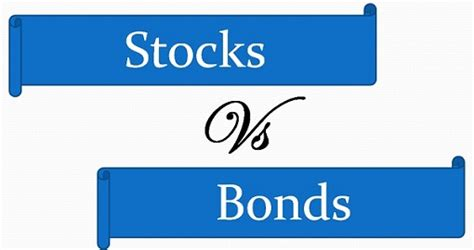 difference  stocks  bonds  comparison chart