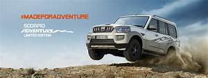 2017 Mahindra Scorpio Adventure Edition Launched in India ...