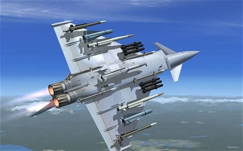 FlyFreeStd - Eurofighter EF-2000 Typhoon V2 FSX | After ...