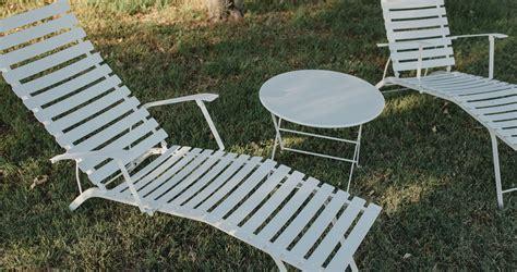chaise bistro fermob bistro chaise longue garden deck chair
