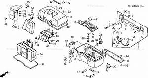 Honda Motorcycle 1987 Oem Parts Diagram For Rear Trunk
