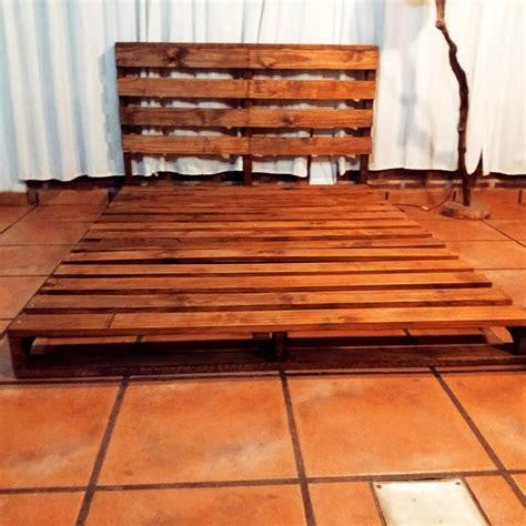 pallet bed platform wooden pallet platform bed