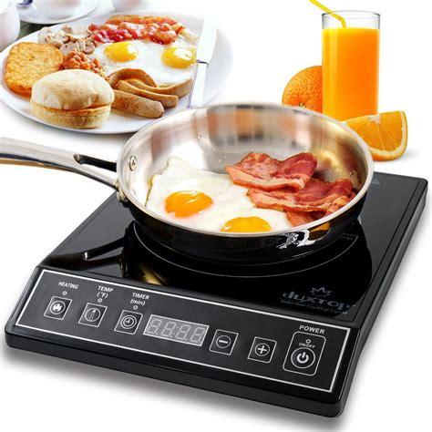 amazoncom secura mc  portable induction cooktop countertop burner black electric