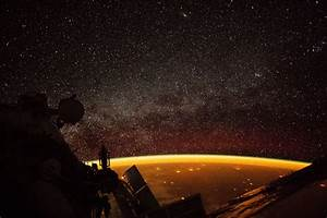 Earth Enveloped in Airglow | NASA  Nasa