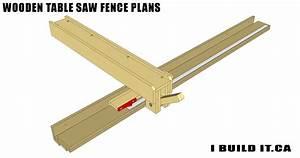 Wooden Table Saw Fence Plans - Plans - IBUILDIT CA