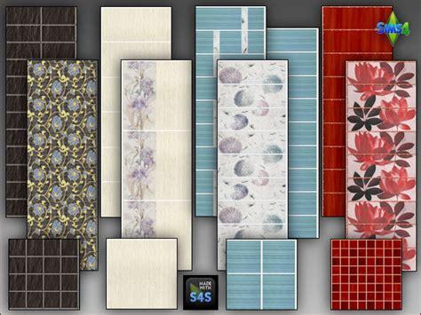 arte della vita  tile sets   bathroom sims