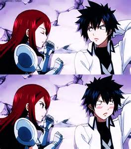 Fairy Tail Erza and Gray