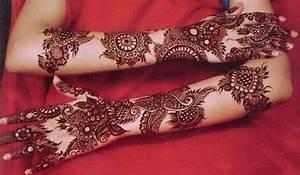 Latest New Bridal or Dulhan Mehndi Designs 2016 for Full ...