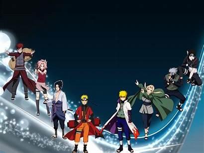 Naruto Characters Shippuden Wallpapers Desktop Cartoon Character