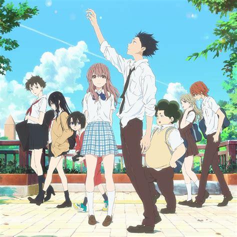 silent voice anime movie a silent voice movie anime news network