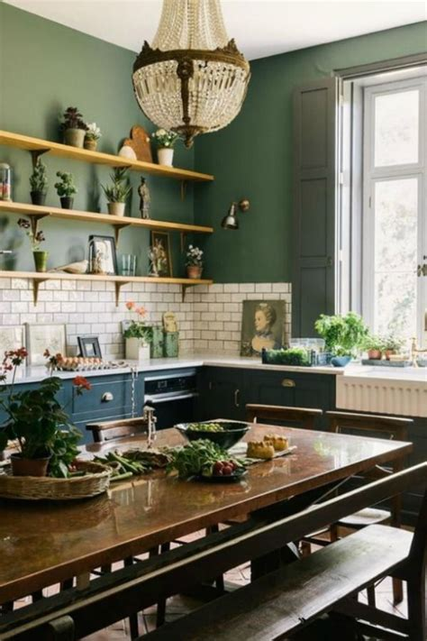 dark green paint colors autumnal green inspiration
