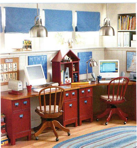 Pottery Barn On A Budget by Build A Family Computer Desk On A Budget My Pottery Barn