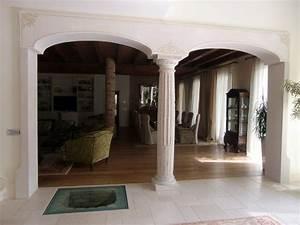 Foto: Archi In Cartongesso con Colonna Centrale di Trevi