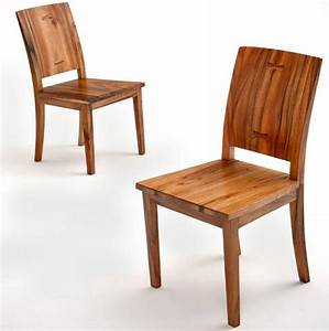 Contemporary Side Chair, Modern Wooden Dining Chair