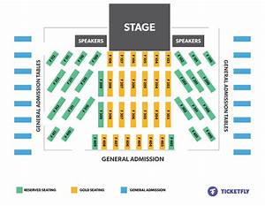 Concert Seating Diagrams