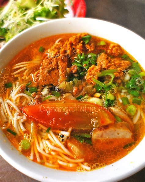 chignon cuisine danang cuisine bun rieu cua to eat to cook