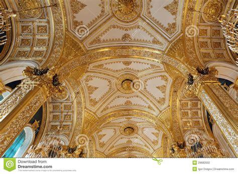 Goldene Decke Stockfoto Bild Von Niemand, Regierung